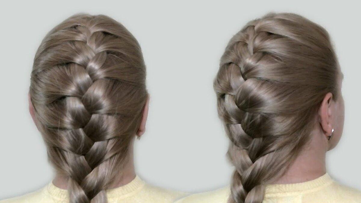 Плетение французской косы — варианты и схемы