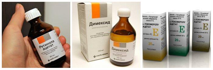 Препарат димексид для волос: эффективность и инструкция по применению