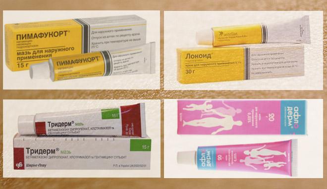 Лучшие мази от дерматита на лице для взрослых и детей