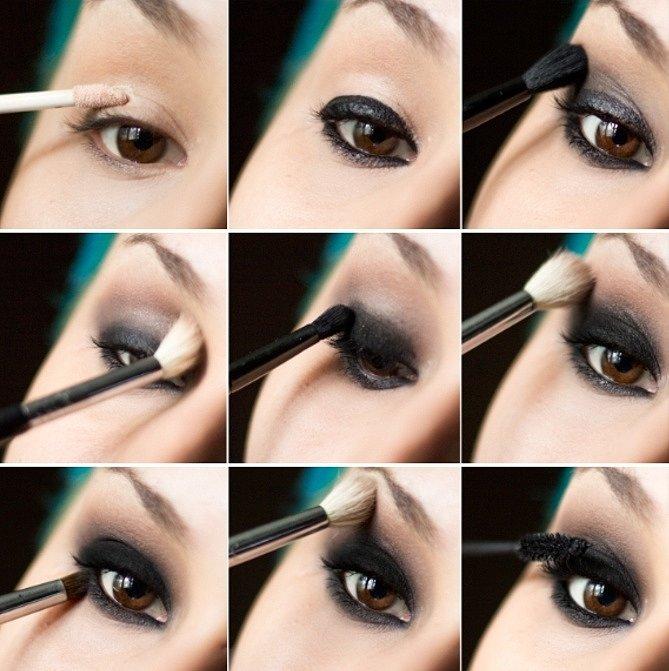 Макияж смоки айс — инструкция по выполнению и советы как правильно нанести идеальный макияж (125 фото и видео)