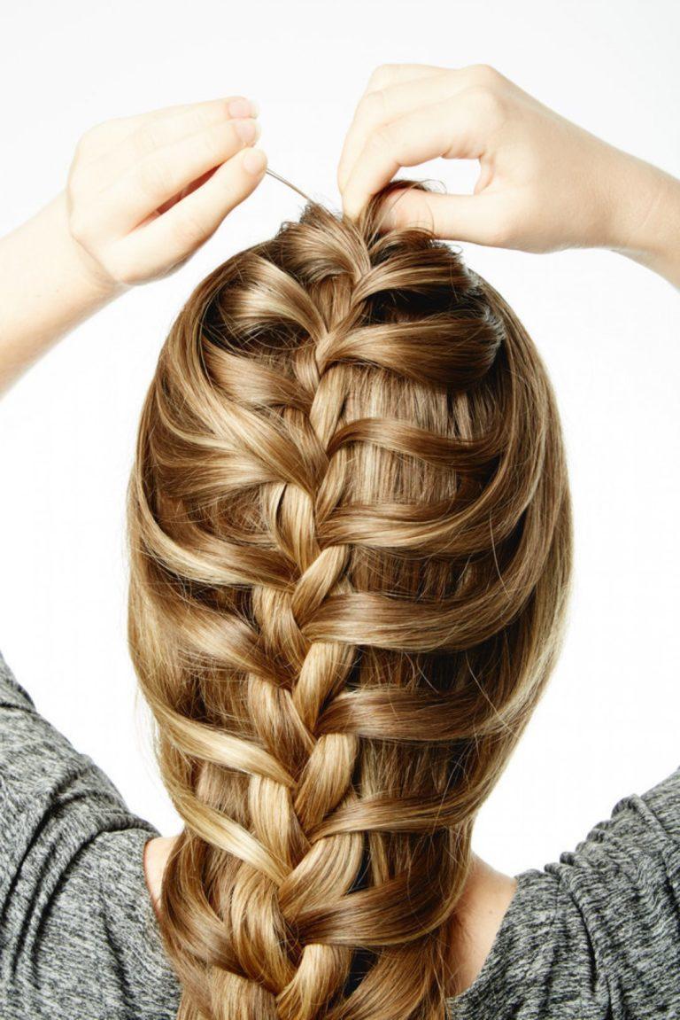 Как плести французскую косу: пошаговая инструкция