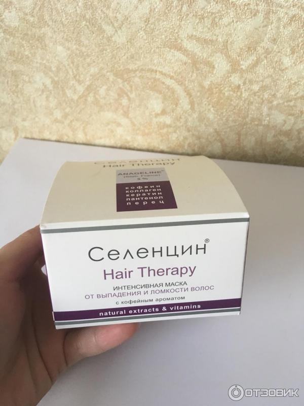 Чего ждать от косметики «селенцин» при выпадении волос?