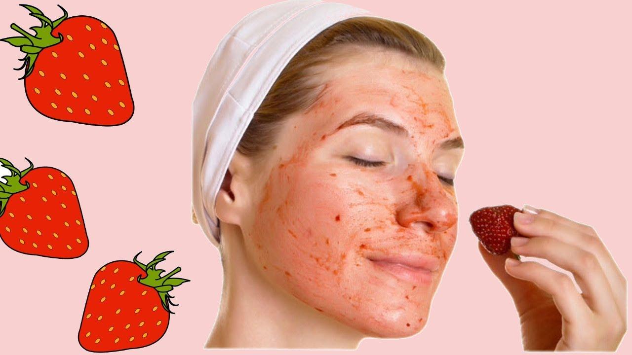 Как использовать клубнику для кожи лица?