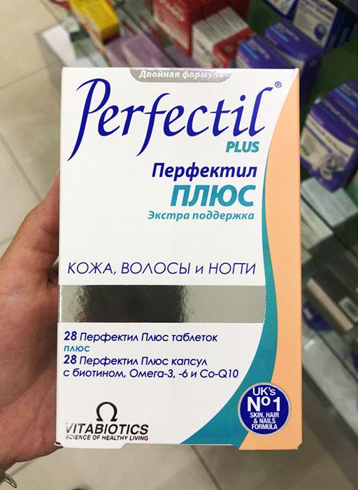 Здоровье волос с Перфектил