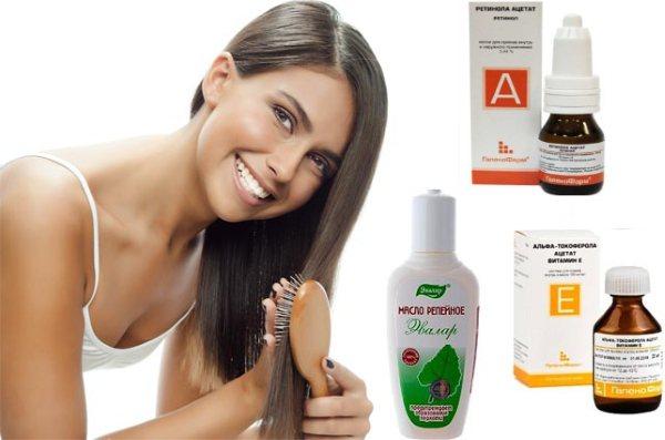 Витамины в ампулах для роста и от выпадения волос: как правильно сочетать, наносить, втирать в кожу головы