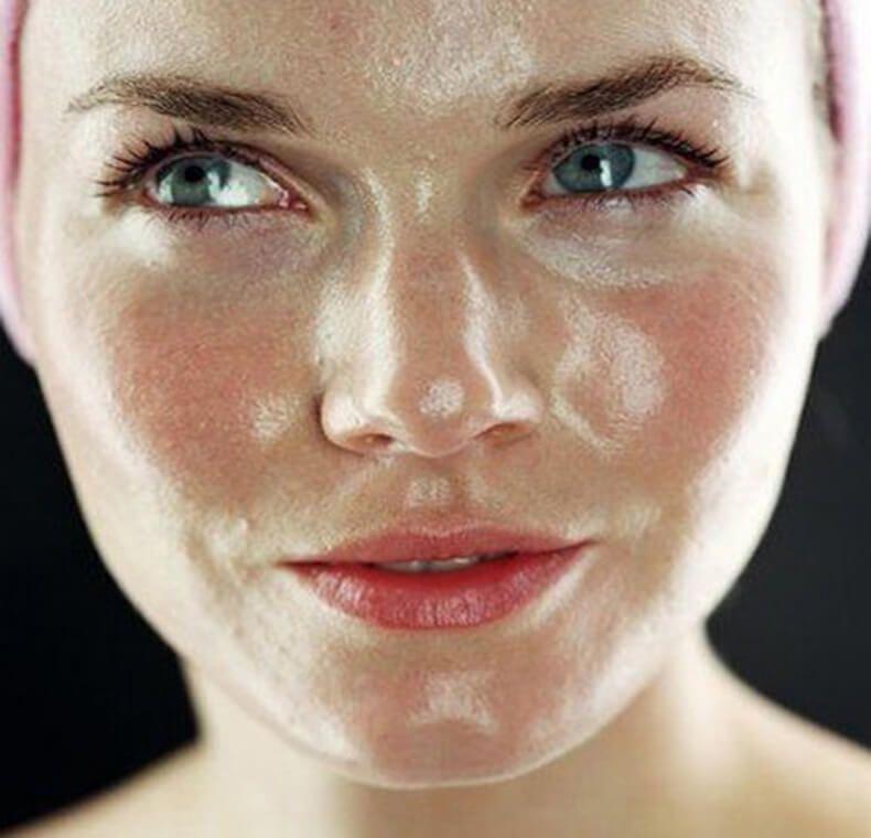 Жирная кожа лица у мужчин