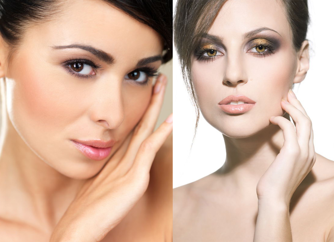 Варианты макияжа для кареглазых брюнеток: особенности и цвета