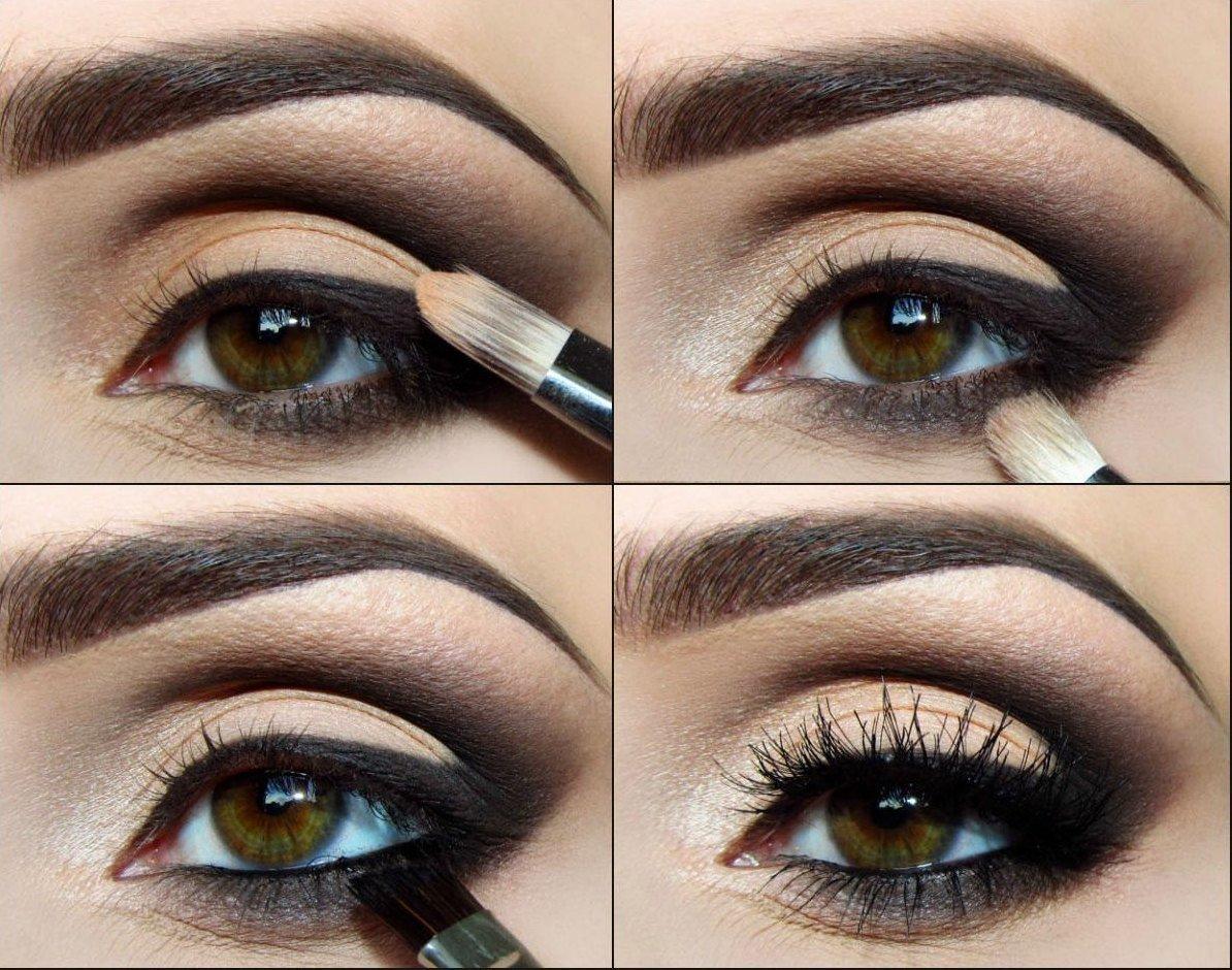 Техника и виды макияжа смоки айс с фото и видео