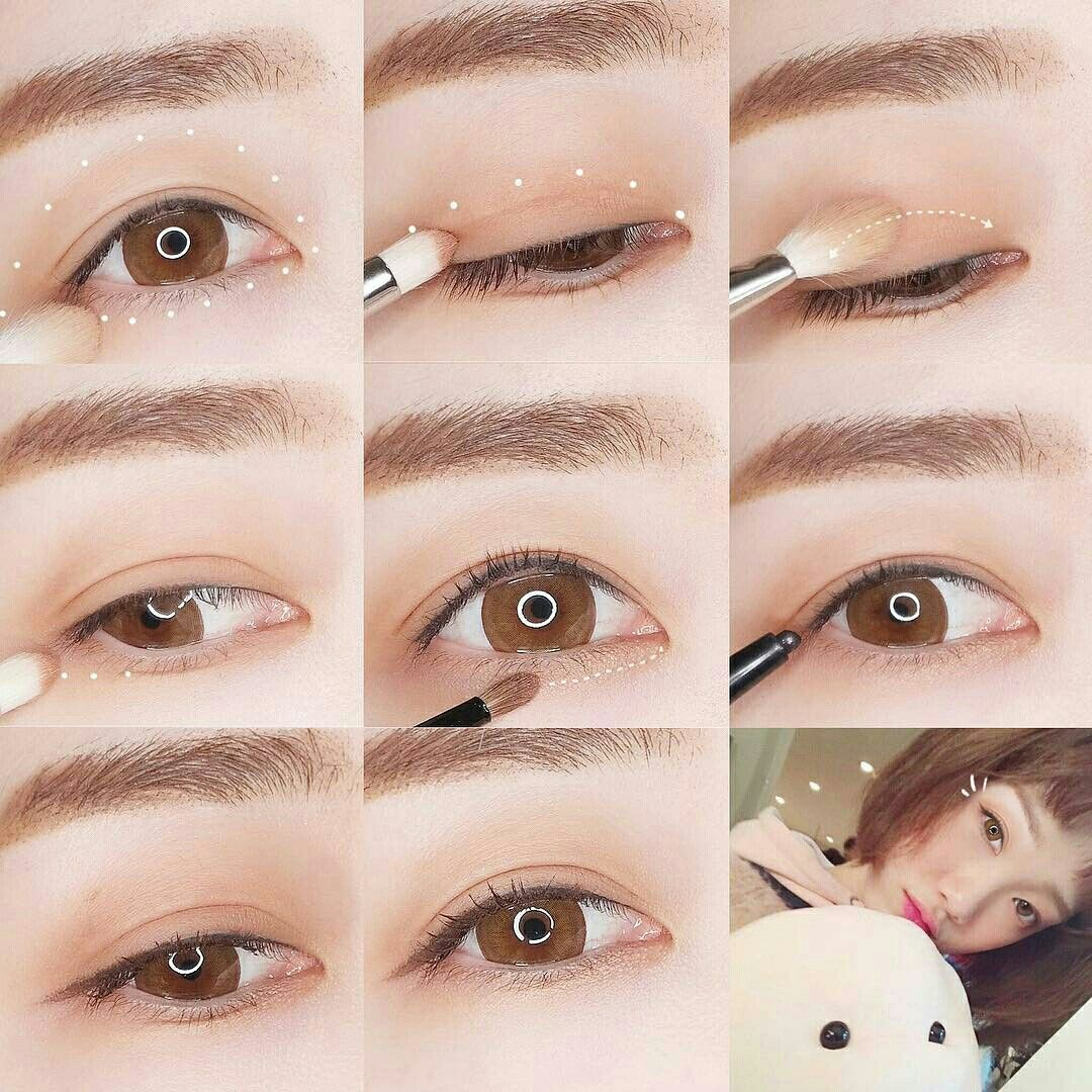 Корейский макияж поэтапно