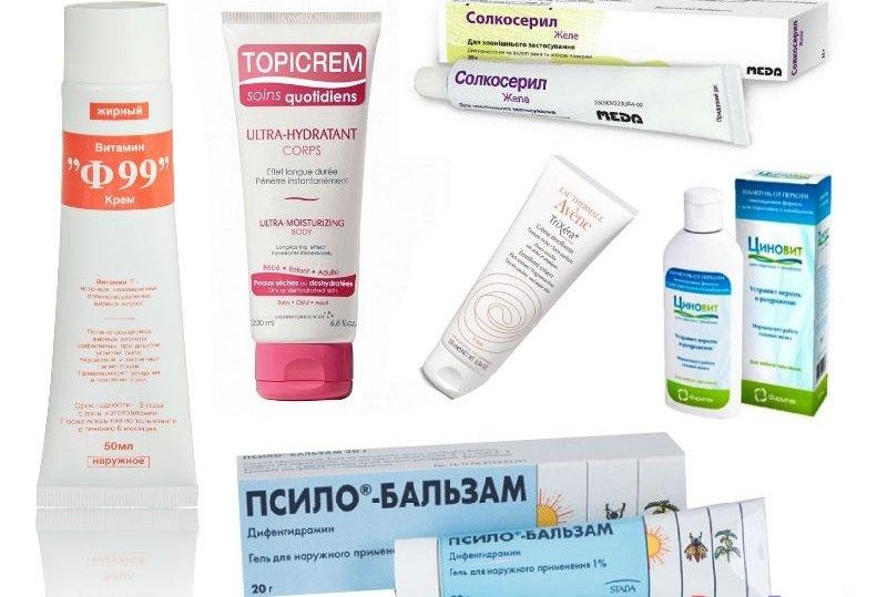 Дерматит на лице: фото, причины, симптомы и лечение