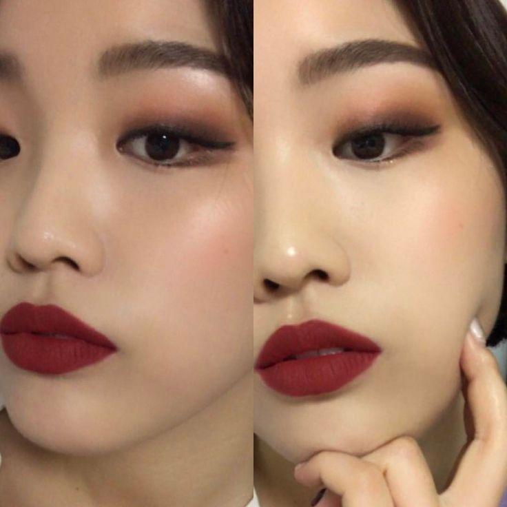 Как сделать корейские брови. корейский макияж.  нюансы создания.