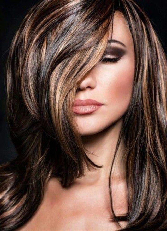Мелирование на темные волосы: 16 актуальных идей
