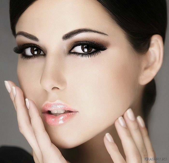 Макияж для карих глаз и светлых волос: пошаговое руководство, тени и помада