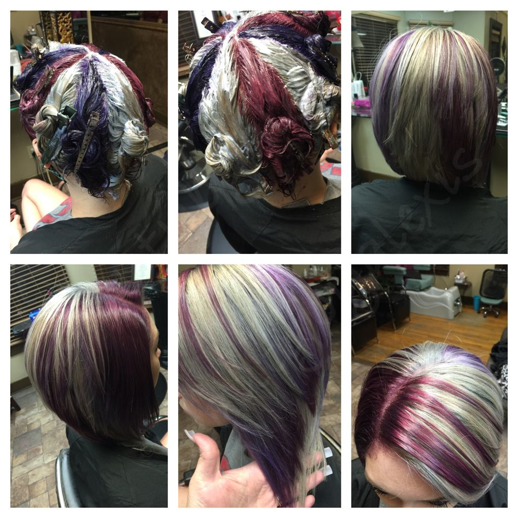 Колорирование на темные волосы с фото и видео