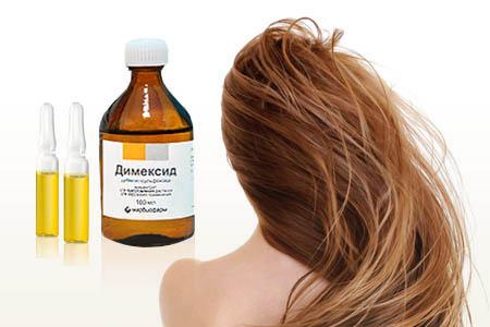 Препарат «димексид» для волос: состав и особенности применения