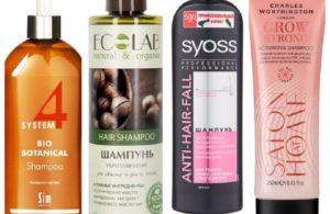 12 лучших шампуней против выпадения волос