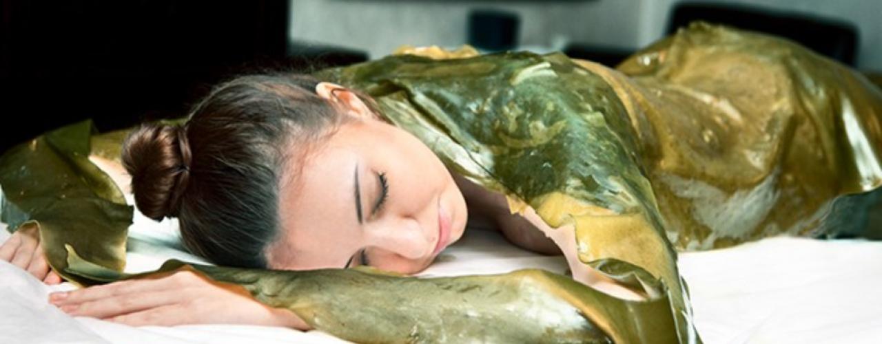 Талассотерапия - обертывание морскими водорослями | антицелюлитное обертывание