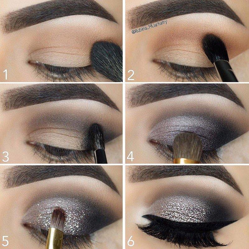 Как сделать макияж «смоки айс» для зеленых глаз в домашних условиях