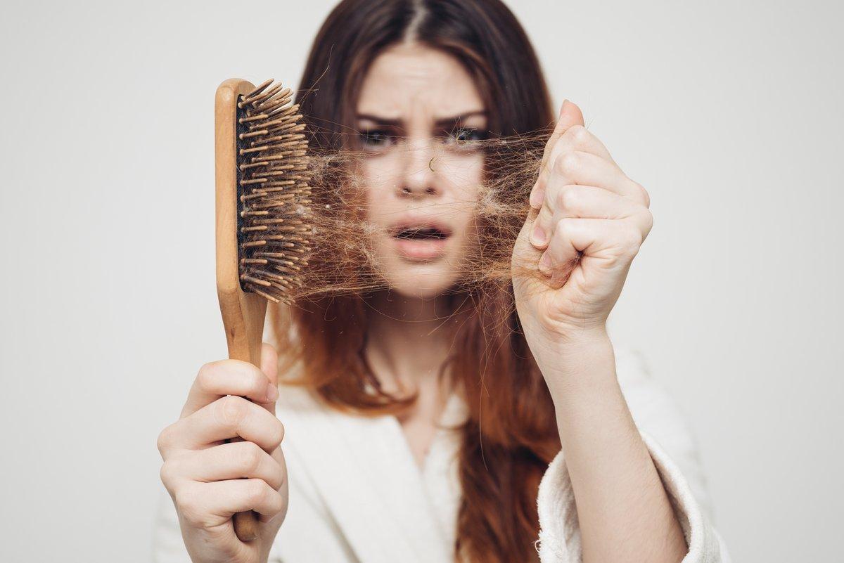 Волосы выпадают кусками