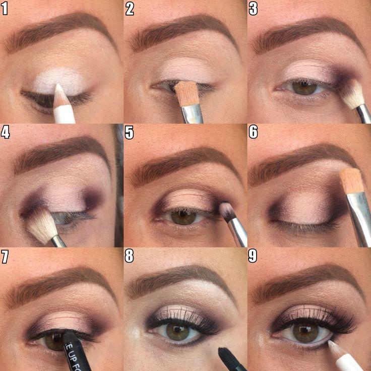 Как правильно делать макияж: поэтапное фото с описанием
