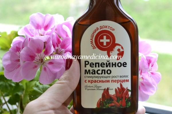 Репейное масло для здоровья и красоты волос
