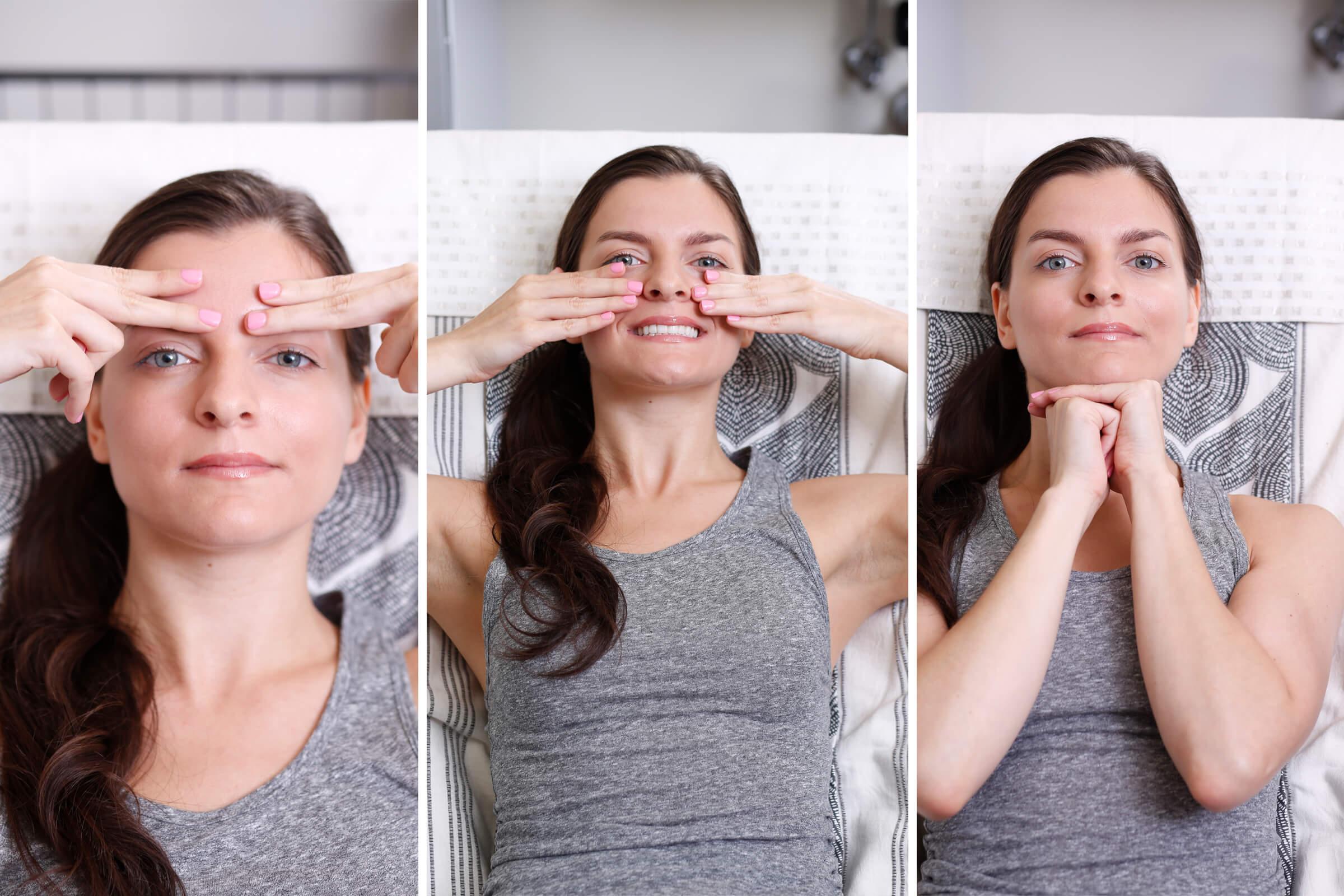 Гимнастика для лица от морщин