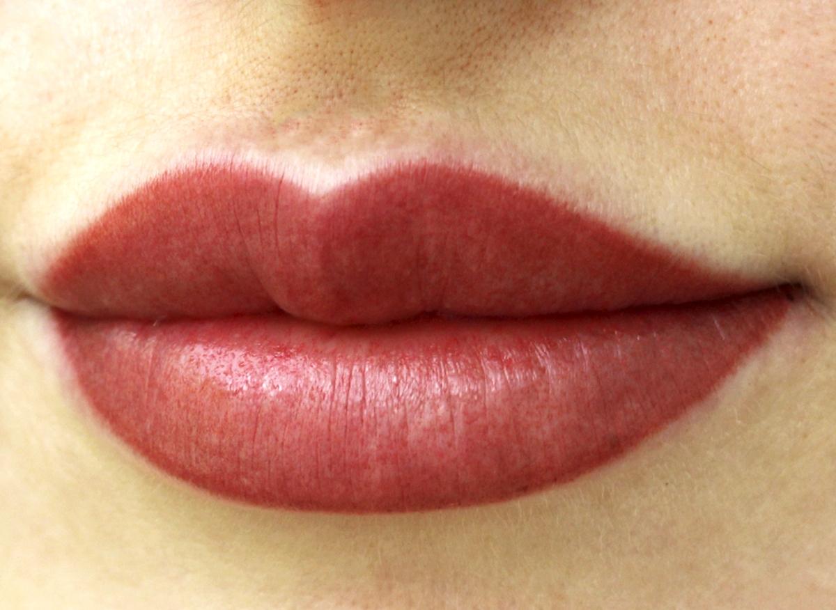 Татуаж губ: фото до и после процедуры, заживление по дням, уход