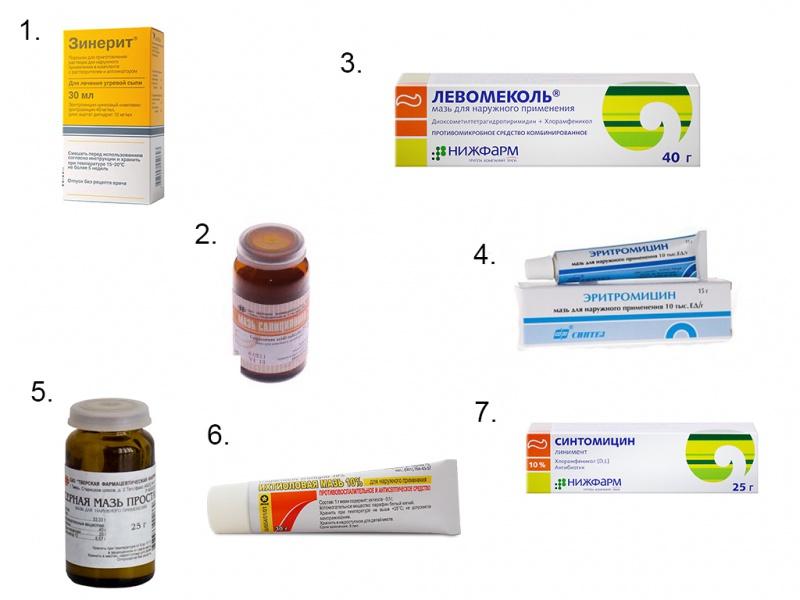 Дешевые средства от прыщей - аптечные, и эффективные