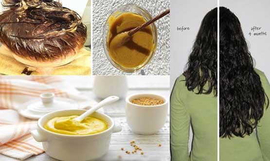 Как быстро отрастить волосы с помощью горчицы
