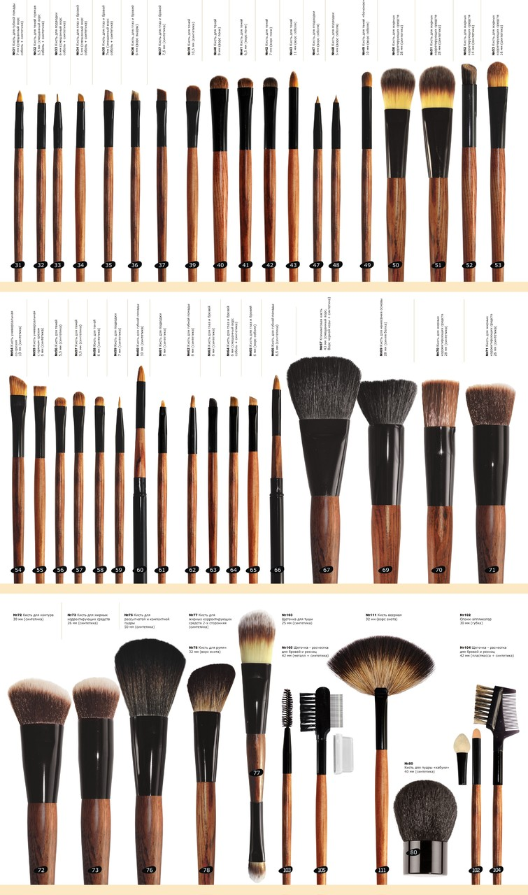 Кисти для макияжа: для чего какая используется. полный разбор (фото)