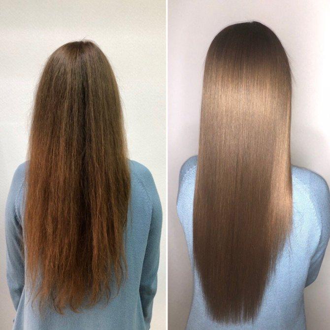 Что такое ботокс для волос и как его делают + отзывы и фото до и после процедуры