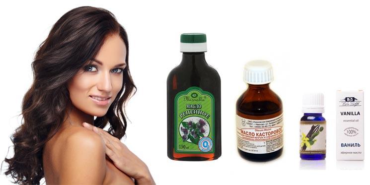 Уникальное репейное масло для быстрого роста волос