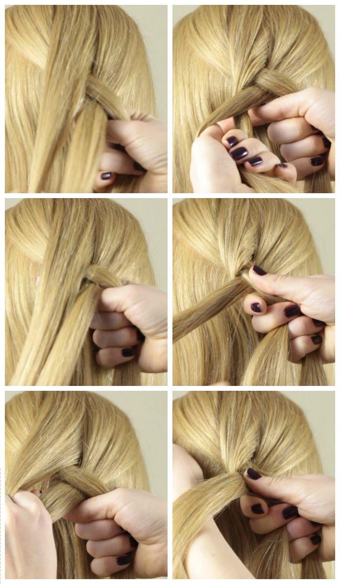 Французская коса: красивые прически самой себе