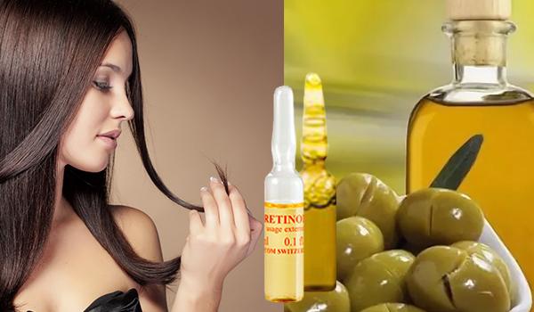 Уход за волосами с витаминами в ампулах