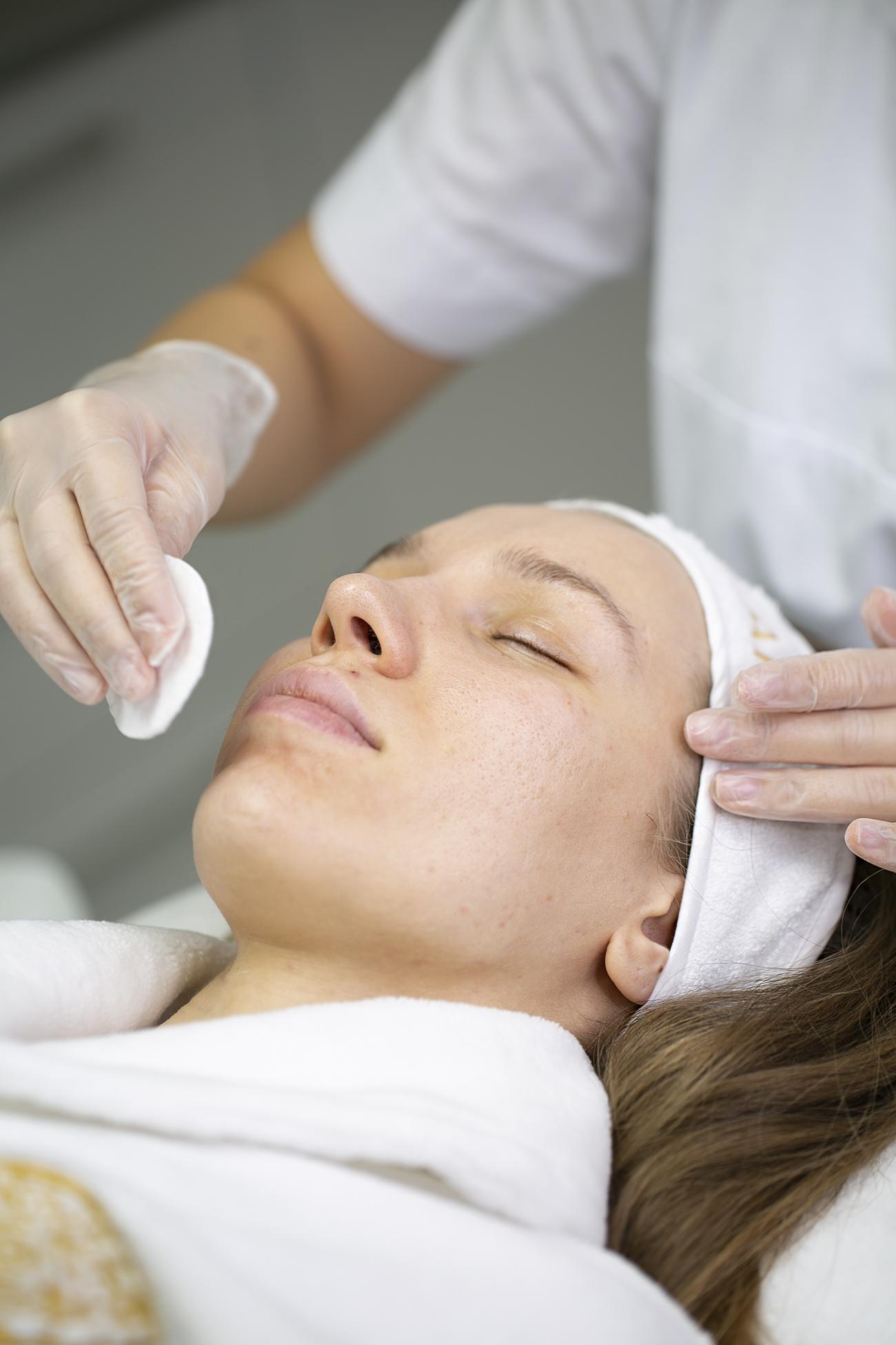 Ультразвуковая чистка лица — что это такое, этапы, результаты, цена, фото до и после