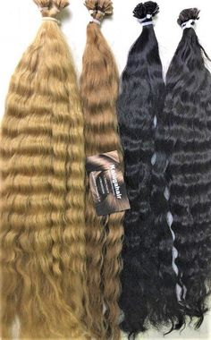 Виды и технология капсульного наращивания волос