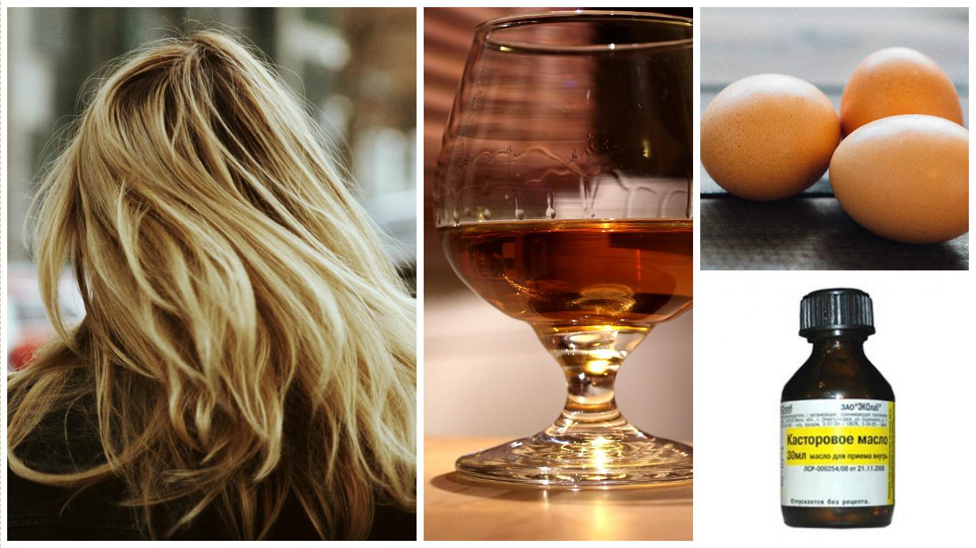 » касторовое масло против выпадения волос