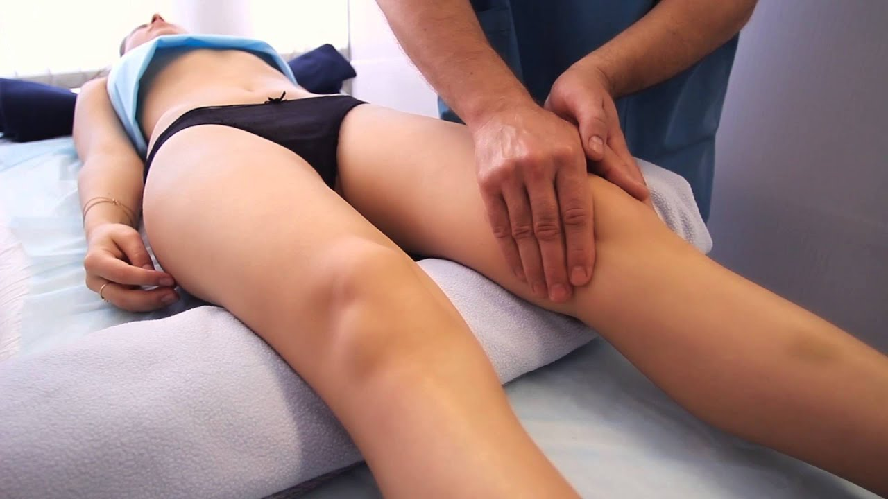 лимфодренажный аппаратный массаж ног