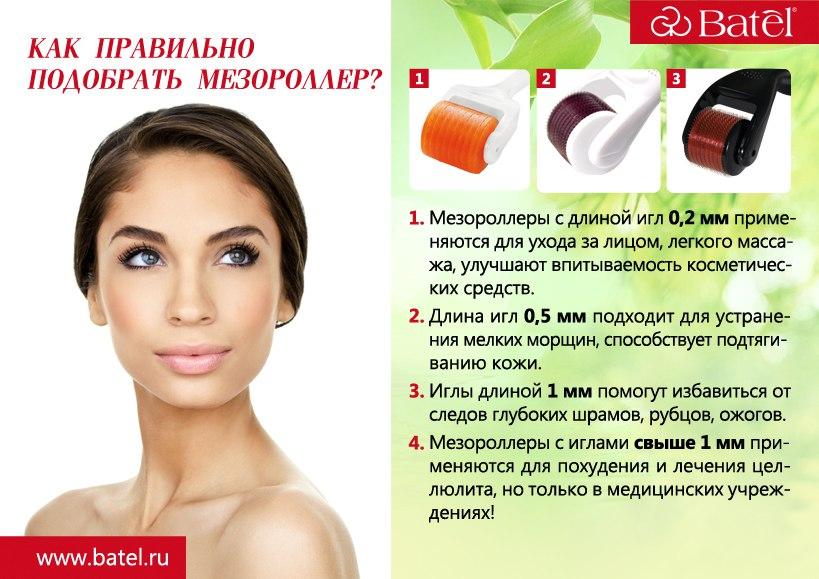 Как пользоваться мезороллером в домашних условиях или избавляемся от различных проблем с кожей