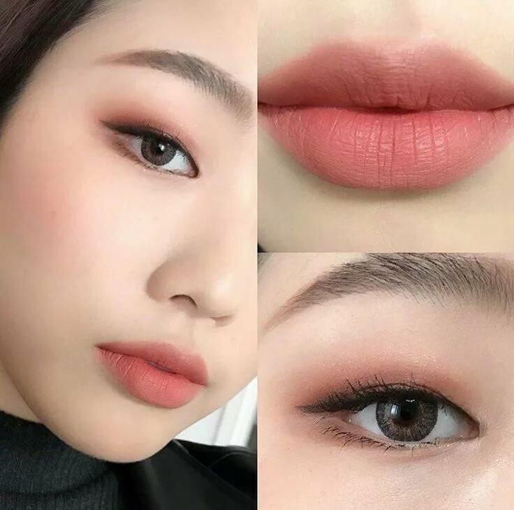 Как нарисовать корейские брови