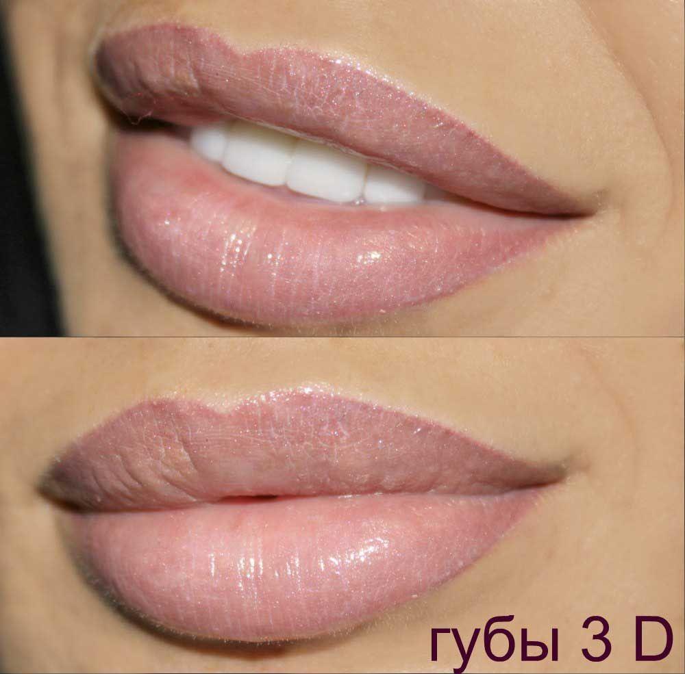 Татуаж губ – дань моде или практичная красота?