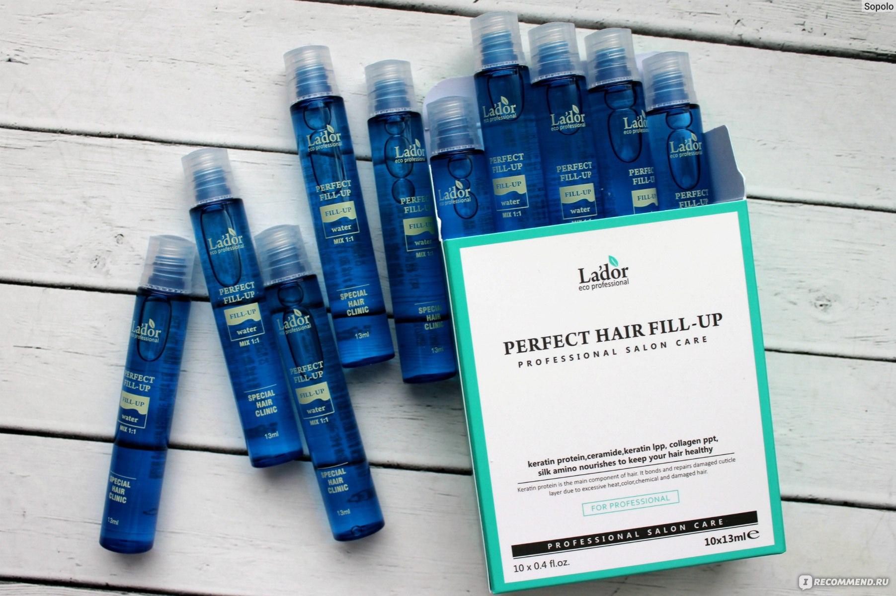 Филлеры для волос la'dor: применение и ожидаемый результат
