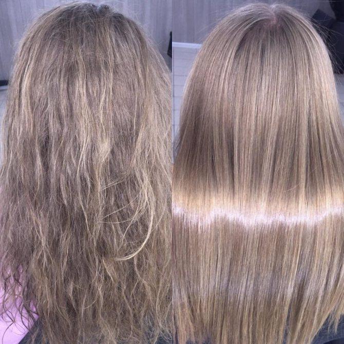 Ботокс волос — что это за процедура, как сделать в домашних условиях, средства, фото