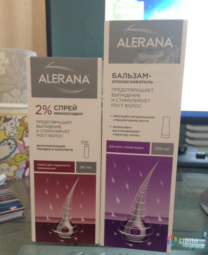 Спрей алерана от выпадения волос