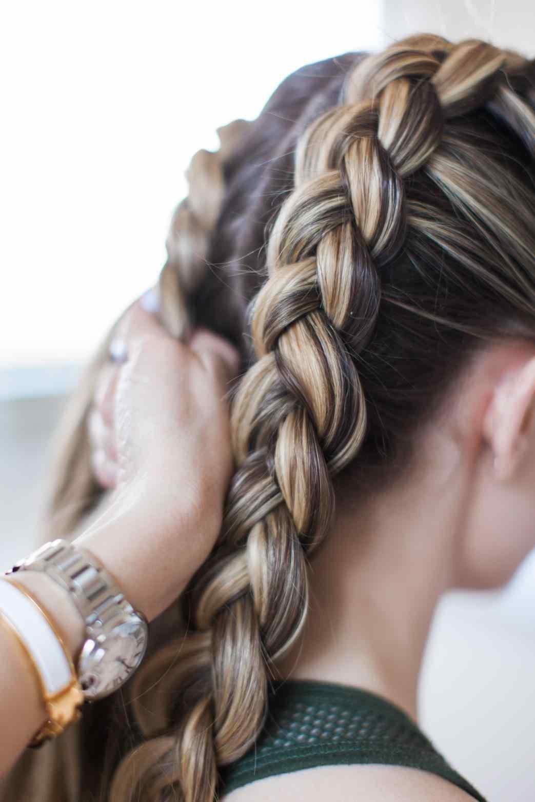 Плести французскую косу за 5 минут самостоятельно: пошаговые фото и видео инструкции