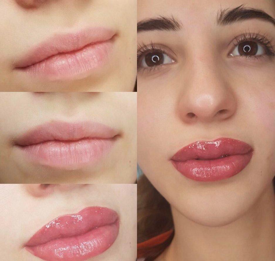Стоит ли делать татуаж губ: рассматриваем фото перманентного макияжа