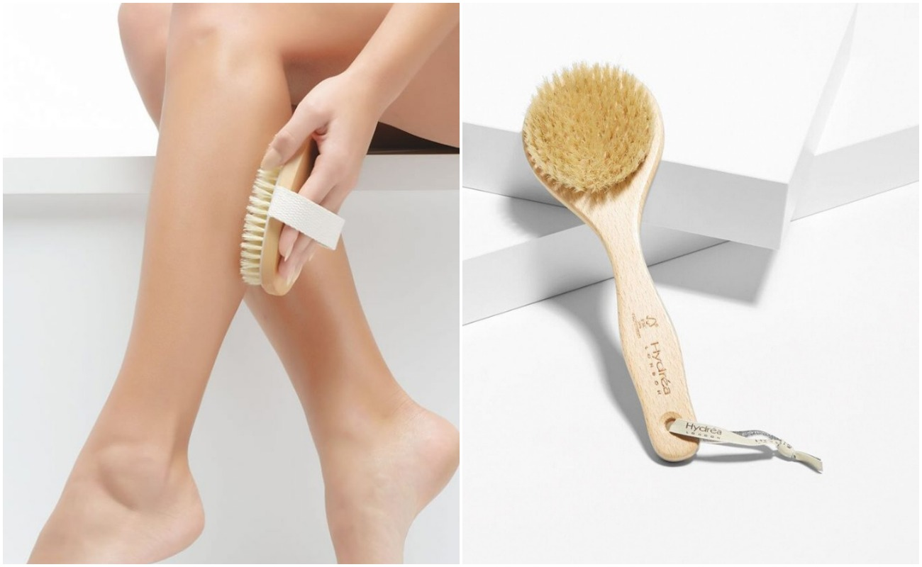 Сухая щетка и скрабы: как сделать кожу тела идеальной и избавиться от целлюлита
