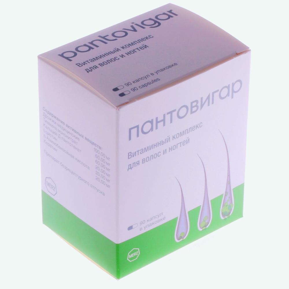 Препарат против выпадения волос «Пантовигар» и инструкция к его применению