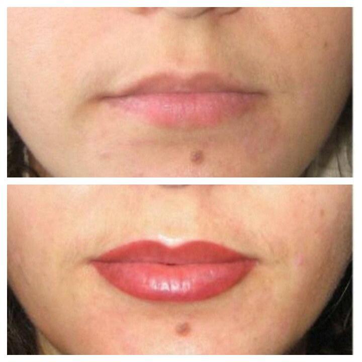 Что такое перманентный макияж губ, как его выполняют