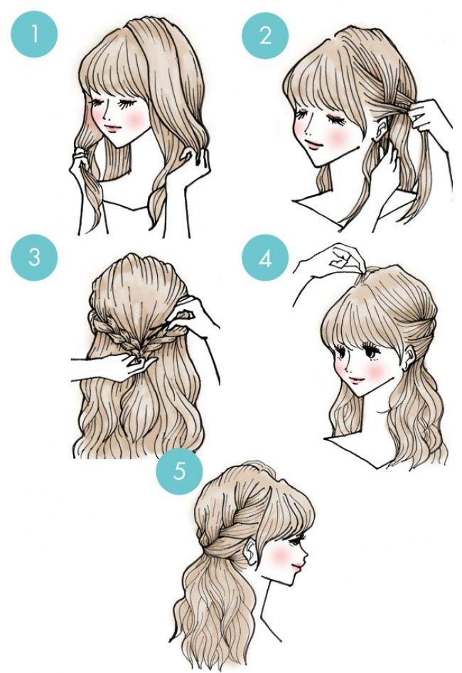 Прически на средние волосы в домашних условиях — топ 15 лучших